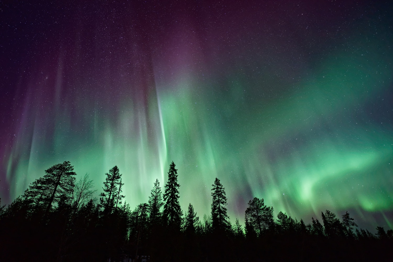 the northern lights - places to go for new year's eve - northern lights - luxury vacations - luxury vacation - alaska - nature