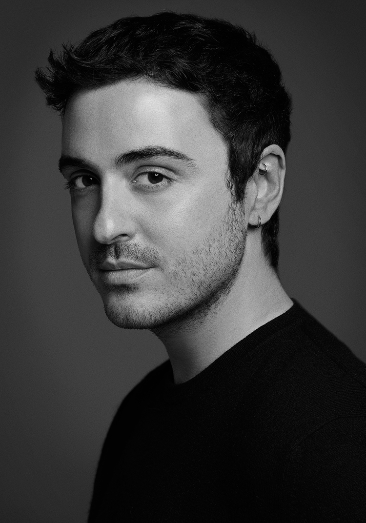 top interior designers - ryan korban - young interior designers - headshot - ryan - korban - black and white - ryan korban