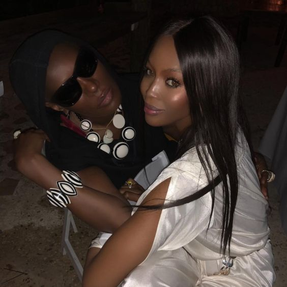 Naomi Campbell - New Year's Eve 2017 - celebrity pictures new years - models on new years