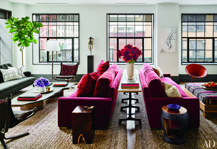 Decoration ideas - Naomi Watts and Liev Schreiber - Manhattan Apartment Interior Design by Ashe + Leandro - Photo by Douglas Friedman via Architectural Digest