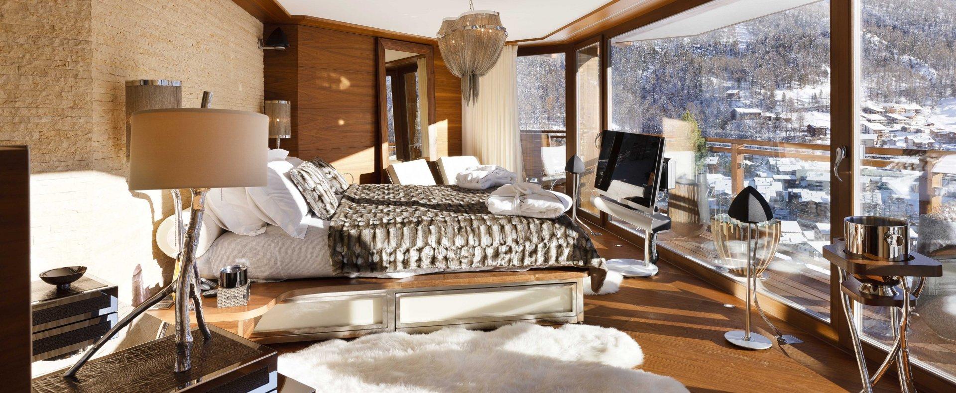 Luxury Escapes 2018 - Chalet Zermatt Peak - luxury hotels - private villas for rent - luxury ski chalets - villas for rent in switzerland - matterhorn