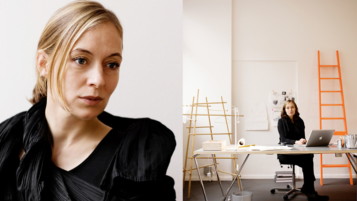 Maison & Objet Paris Designer of the Year Award January 2018 - Danish Designer Cecilie Manz - scandinavian style - the ladder chair