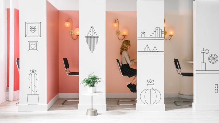 Office Interior Design Ideas - Homepolish Office - Interior Design by Noa Santos. Photo by Julia Robbs - office design - modern cubicles - unique cubicles - ergonomic office chairs - ergonomic office furniture - best of 2018