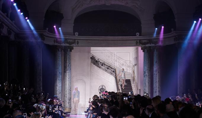 best of 2018 - Haute Couture Paris Fashion Week Spring 2018 - Alexandre Vauthier - Photo via The Impression - fashion trends 2018 - fashion styles 2018 - spring 2018 couture runway elie saab spring 2018 paris