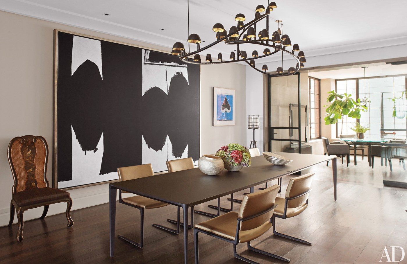 Women Empowerment - Holly Hunt's Chicago Apartment - holly hunt art collection - holly hunt showroom - holly hunt furniture - holly hunts home - Photo by Pieter Estersohn via architectural digest