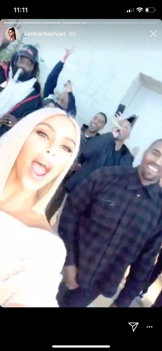 Kim Kardashian West New Year 2018 - celebrity outfits new years eve