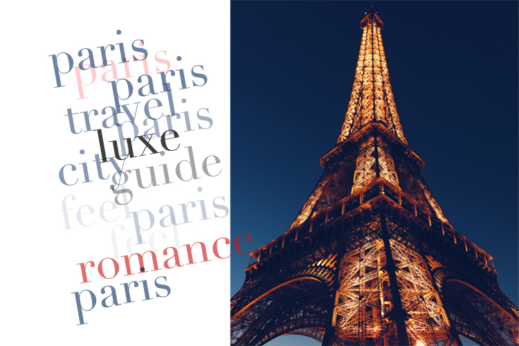 Paris Attractions: Design Lover's Guide to Paris by LUXE City Guides
