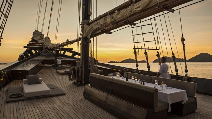 Luxury Escapes 2018 - Omani Dhow at Six Senses Zighy Bay - luxury hotels - private luxury charters - private boats