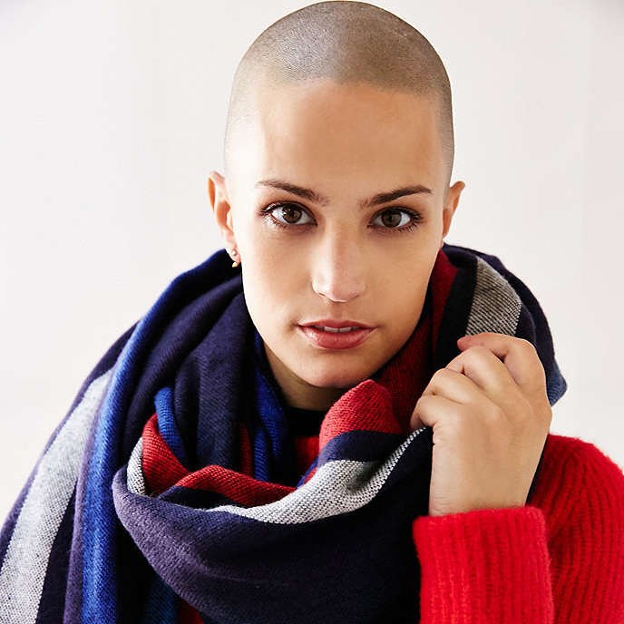 Empowerment Through Beauty - Fighting Cancer with Positive Energy - Model Dayna Christison