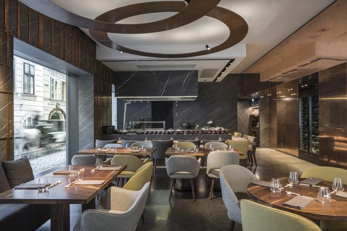Surprising Glowing Vienna Restaurant Design By Gatserelia Love Download Free Architecture Designs Viewormadebymaigaardcom