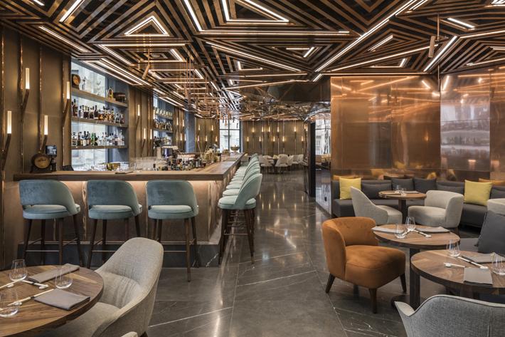 Glowing Vienna Restaurant Design By Gatserelia Love Happens Mag