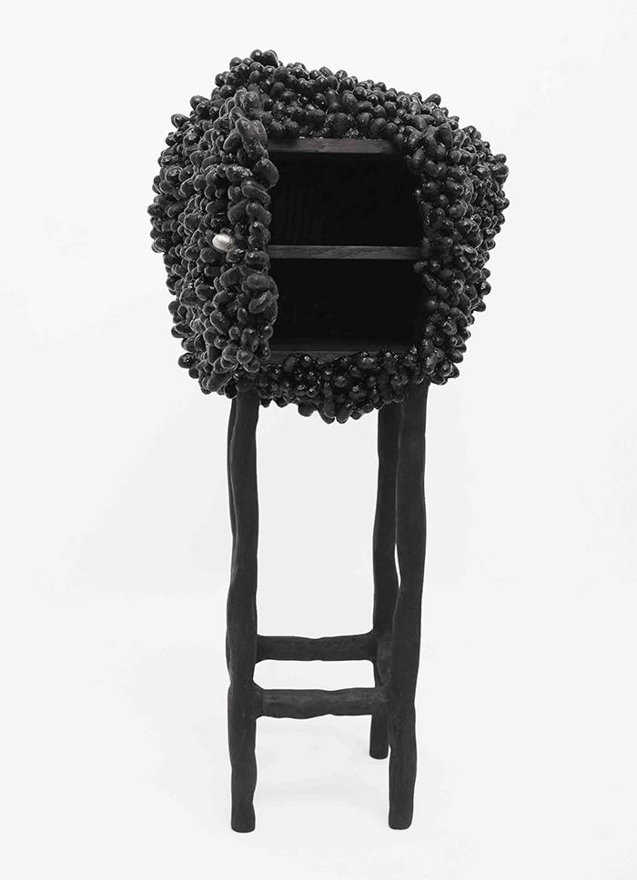 Nomad St. Moritz 2018 - Cabinet Cocoons #5, Marlène Huissoud, 2017 (Sarah Myerscough Gallery) - modern design