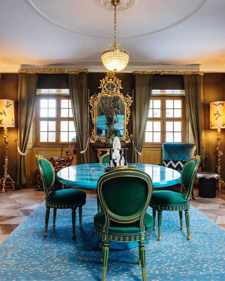Nomad St. Moritz - David Gill Gallery - interior design events - furniture exhibitions