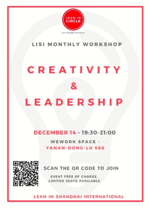 lisi creative & leadership - roberta basso - global girl boss - lean in circles shanghai