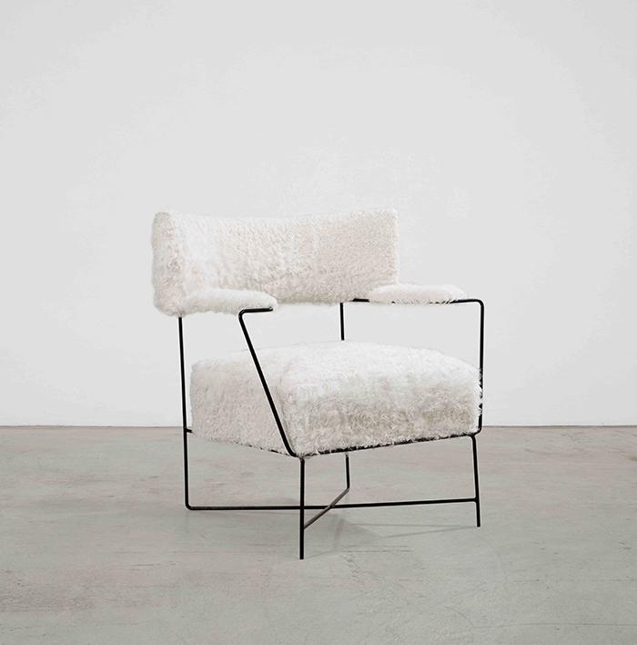 Nomad St. Moritz 2018 - Fauteuil, Joaquim Tenreiro, circa 1950 (Nilufar Gallery) - modern design - unique chairs