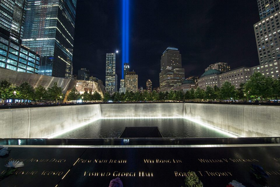 Image courtesy of The National 9-11 Memorial & Museum - 9/11 tribute