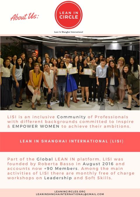 roberta basso - global girl boss - lean in circles shanghai - lean in shanghai international - lisi - female entrepreneurs - women empowerment - female networking groups shanghai