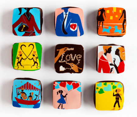 Valentine's Day Gift Ideas - MarieBelle Chocolates - Gift ideas for women - gifts for art loving women - the worlds most beautiful chocolates - luxury gift ideas for her - designer chocolates