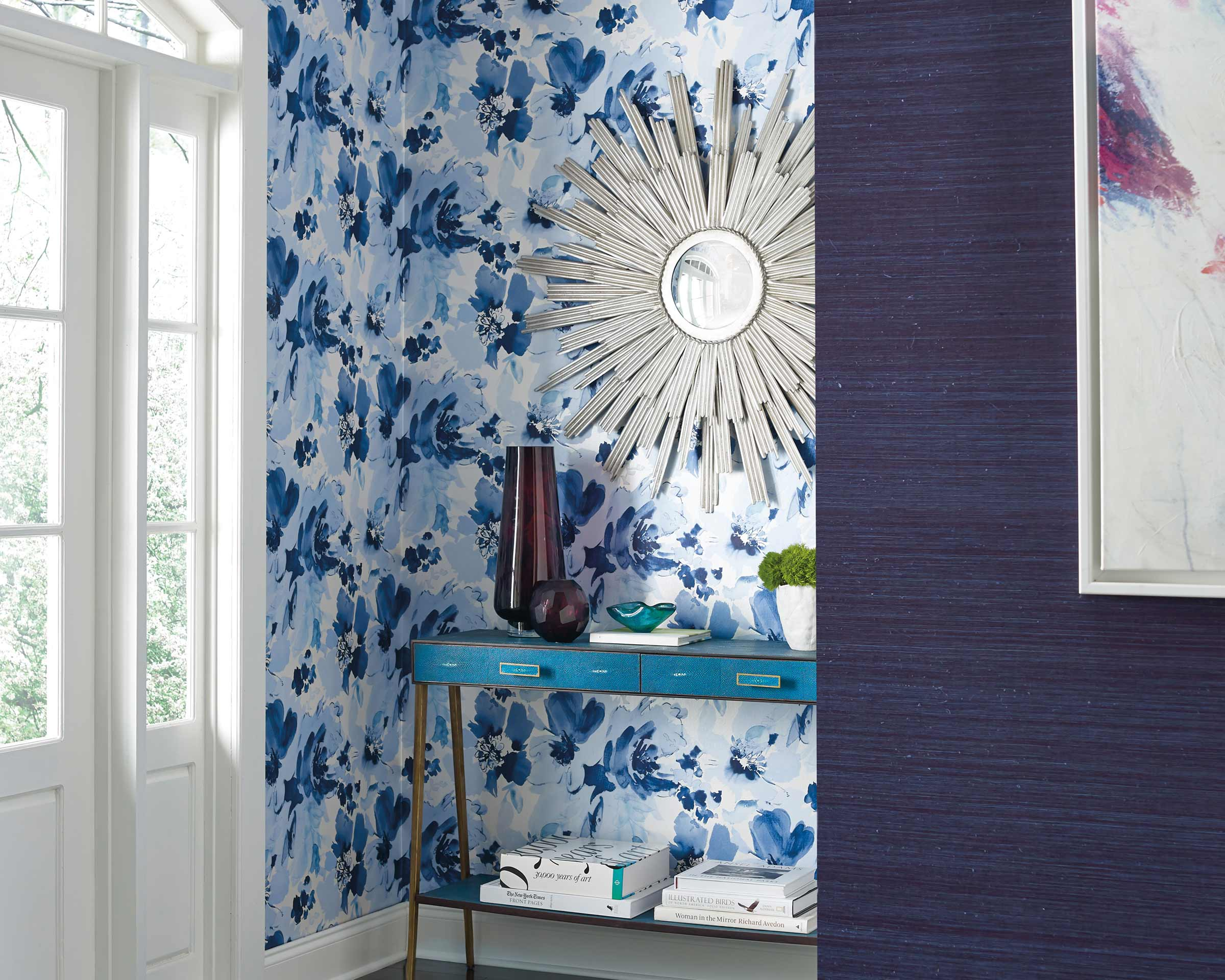 Stacy Garcia - Paper Muse for York Wallcoverings - wallpaper
