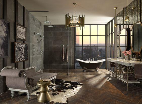 Donna Mondi Interior Design - glamorous bathrooms - luxury bathrooms