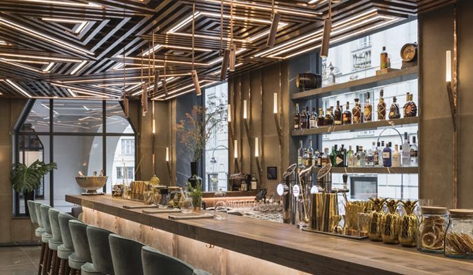 Phenomenal Glowing Vienna Restaurant Design By Gatserelia Love Download Free Architecture Designs Viewormadebymaigaardcom