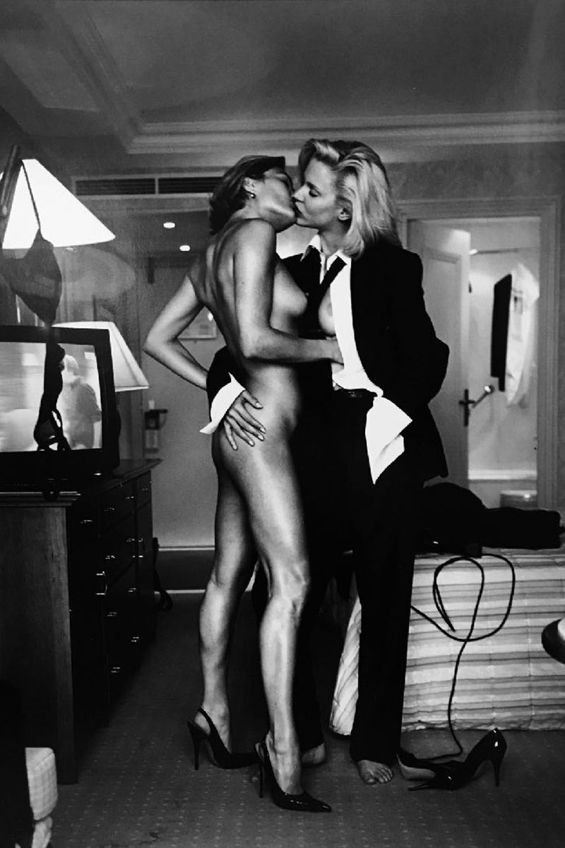 10 Things to Do in NYC Right Now - NY NOW 2018 - New York Fashion Week 2018 - Helmut Newton Two Models for YSL, 1975
