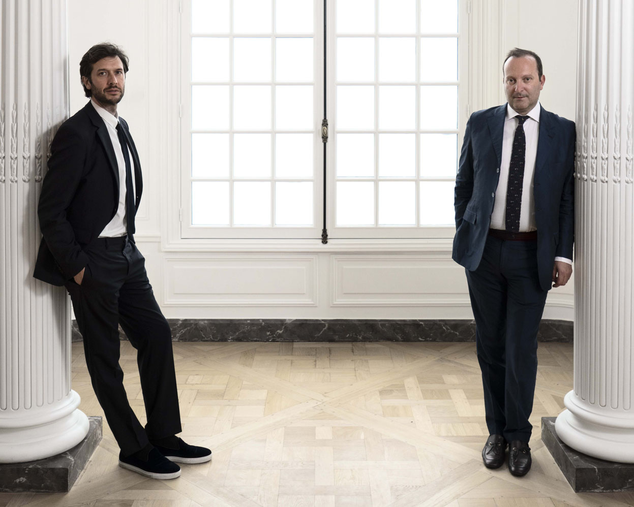 nomad founders nicolas bellavance-lecompte and giorgio pace
