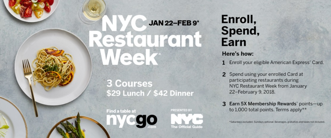 10 things to do in nyc right now - nyc restaurant week