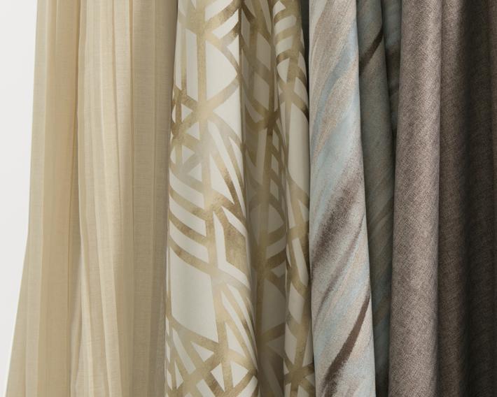 Kaleidoscope Drapery Collection - hospitality textiles - lebatex - drapery fabric