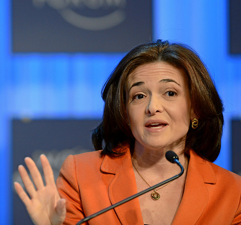 Feamous Feminist Quotes - Sheryl Sandberg - Photo by World Economic Forum - women empowerment quotes - women empowering women
