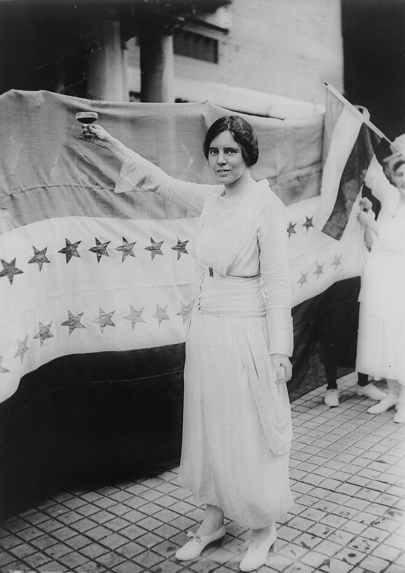 Alice Paul - Women's History Month 2018 - Women Empowerment - Empowering women in history - feminists - women's rights activists