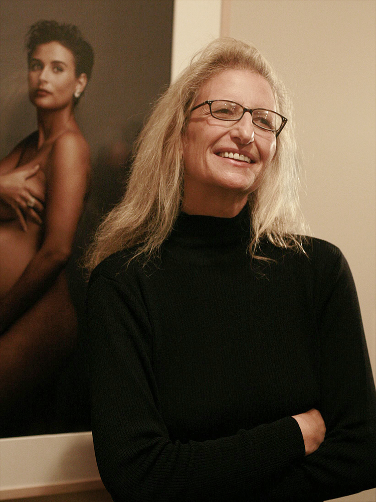 International Women's Day - 25 Legendary Women in Fashion - Annie Leibovitz - Photo by Marc Silber