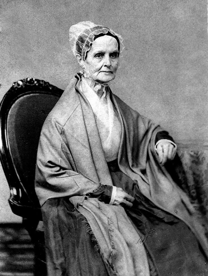 Lucretia Mott - Women's History Month - Women Empowerment - empowering women in history