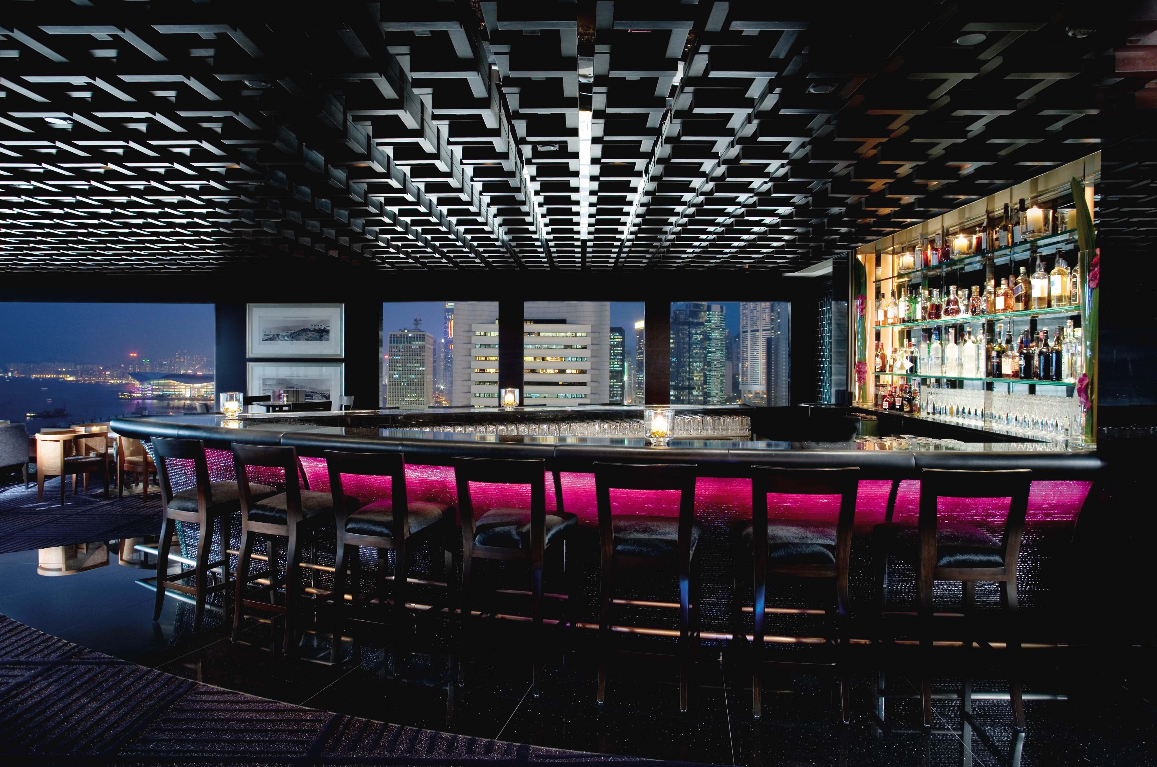 Best restaurants in hong kong - M Bar Mandarin Oriental Hotel Hong Kong - art basel hong kong - best bars in hong kong