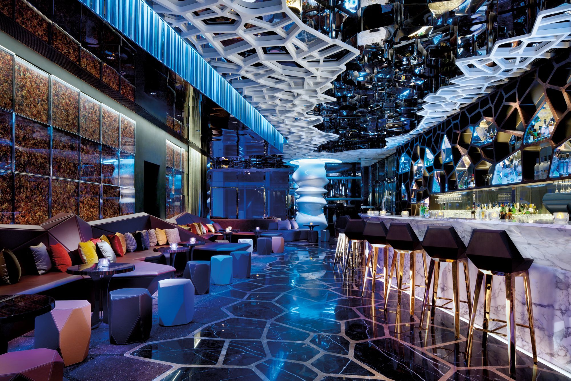 Best Restaurants In Hong Kong   Ozone Bar At The Ritz Carlton Hong Kong    Best