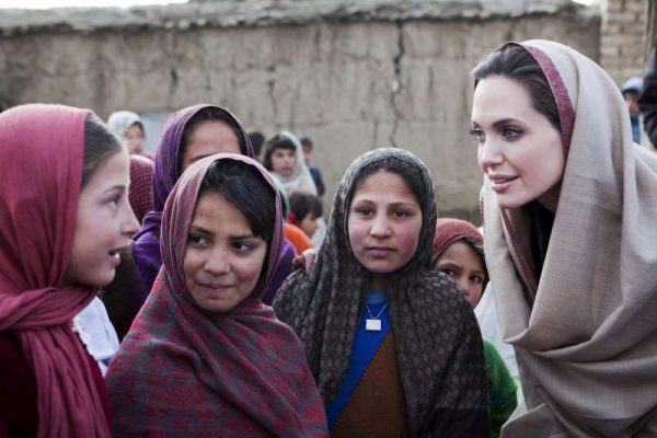Women in Entertainment -Women Empowerment - Angelina Jolie - UNHCR - Girl Power - Female Empowerment - Empowering Women