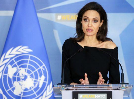 Angelina Jolie - Women Empowerment - Female Empowerment - Girl Power - Empowering Women - Women in Entertainment