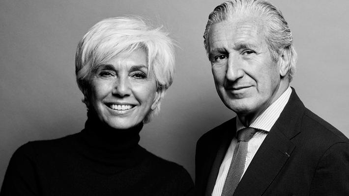 Linda Pinto and Thierry Despont - design partners - top interior designers