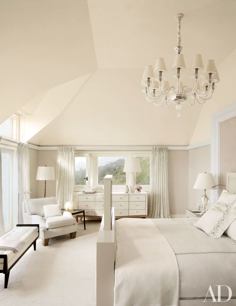 thierry despont ltd architectural digest - ad100 - master bedroom ideas - all white bedrooms - luxury design - design partners - top interior designers