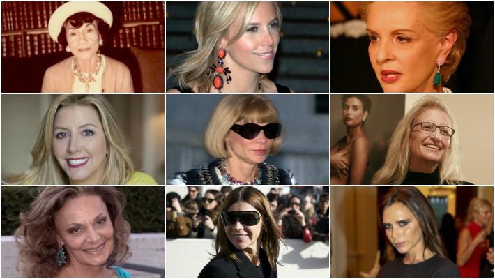 International Women's Day - 25 Legendary Women in Fashion