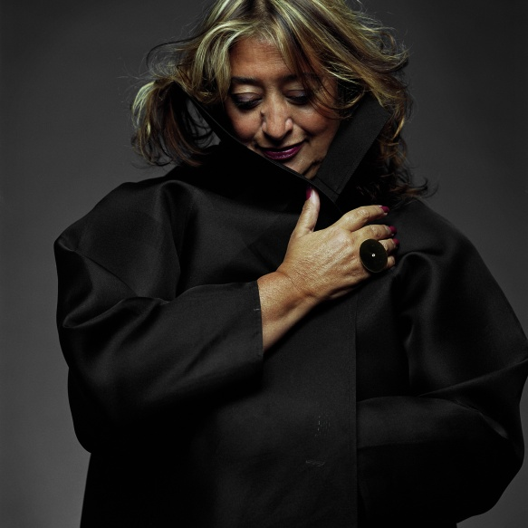 famous female architects - zaha hadid by steve double - women empowerment famous interior designers Leading Ladies of Design: 20 Famous Interior Designers & Architects zaha hadid by steve double
