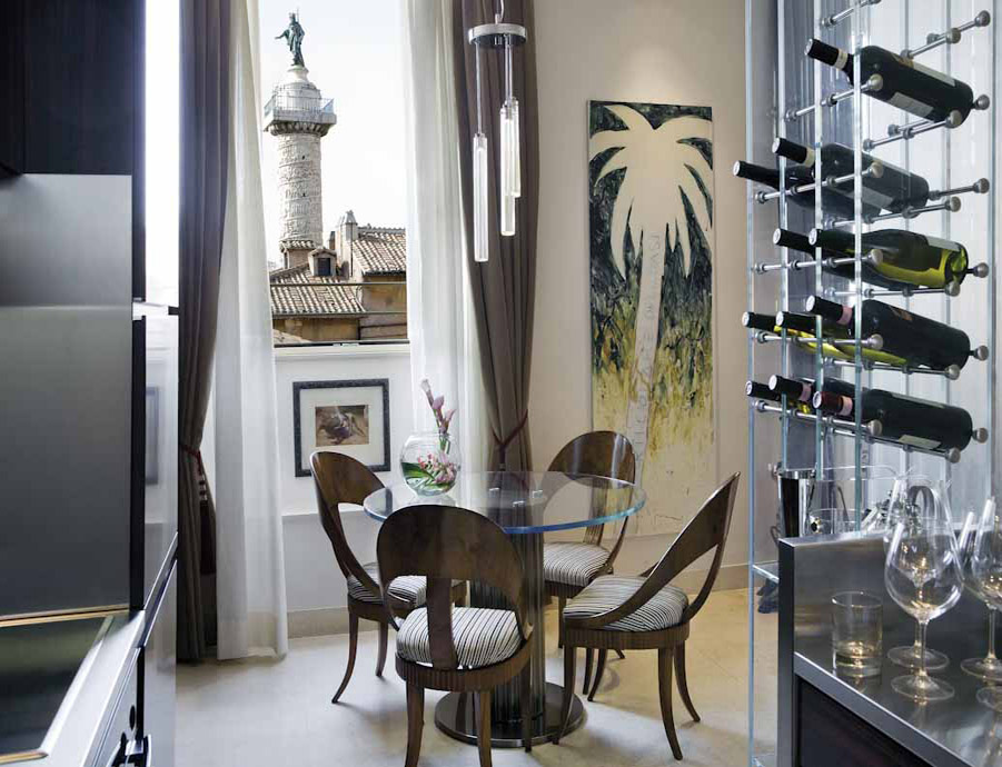 famous interior designers - adam tihany - Casa MANNI Penthouse Rome by Tihany Design, Photo by Serena Eller Vainicher - design hotels - penthouses in rome