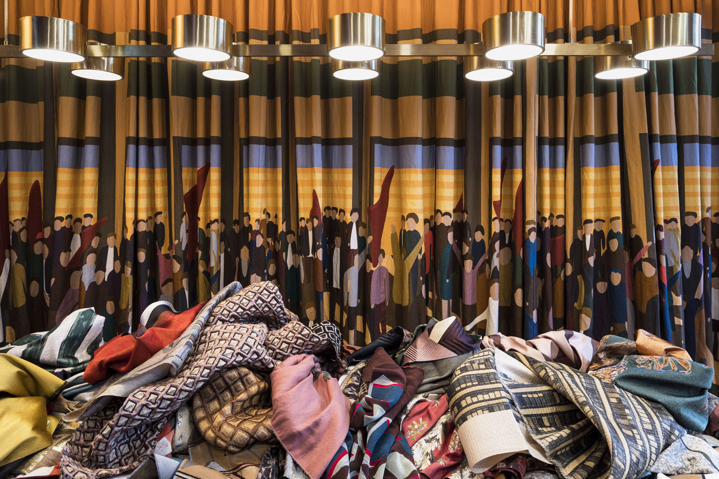 Dimorestudio progettotessuti paris Photo by Tadzio - dimoregallery - top italian interior designers - best interior designers in italy - italian furniture - luxury furniture - luxury interior design