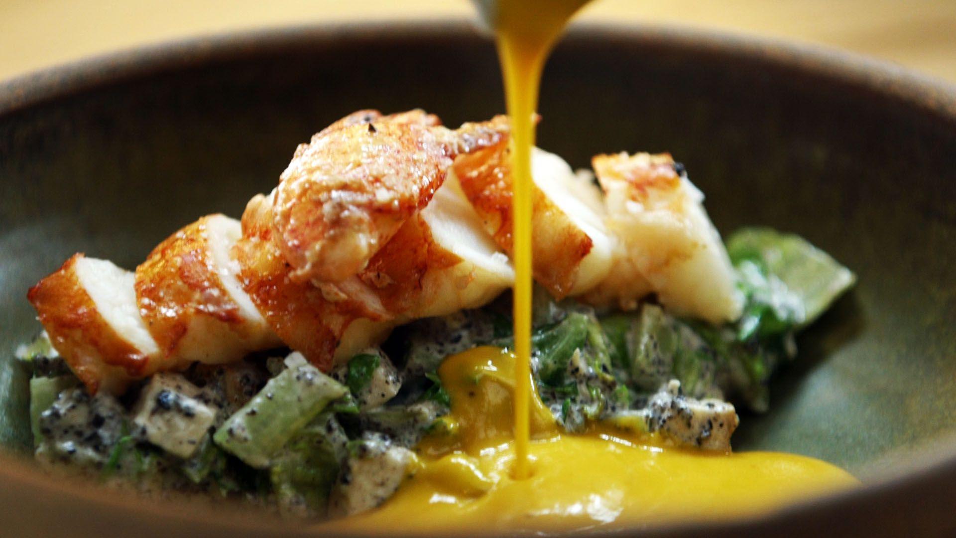 Otium LA - Chef Timothy Hollingsworth - Lobster - best restaurants in la - most beautiful restaurants in la