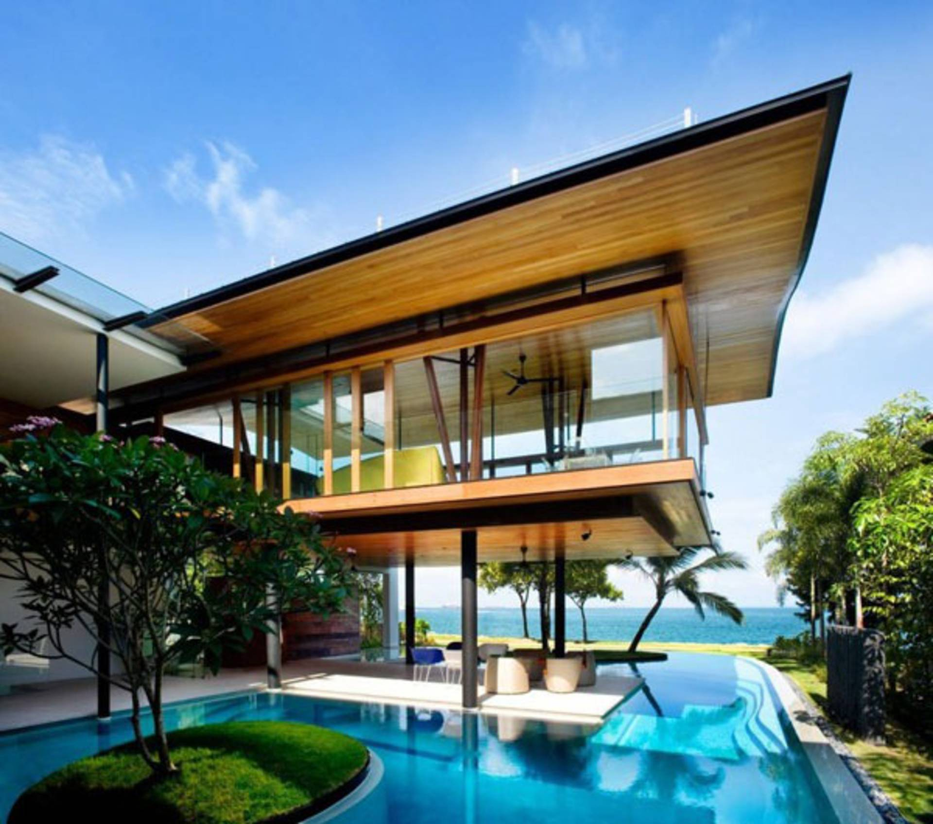 Luxury Seaside Home by Guz Architects - beachfront homes - luxury coastal homes - fish house
