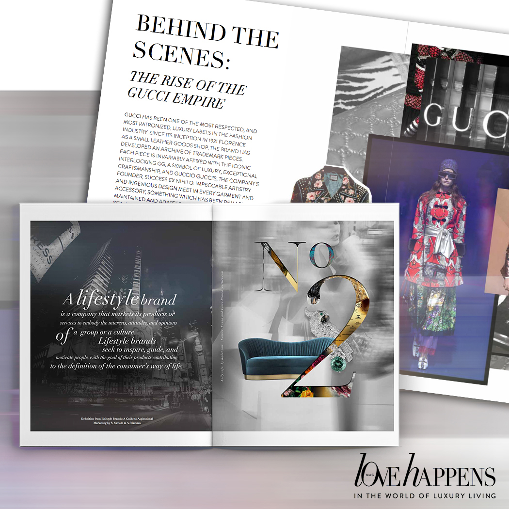 koket love happens mag vol 2 - high point furniture market 2018 - high point market spring 2018 - isalone 2018 - salone del mobile milano 2018 - luxury lifestyle magazines - interior design magazines - fashion magazines - behind the scenes rise of the gucci empire - being a lifestyle brand