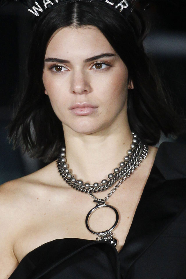 Alexander Wang Spring 2018 - Layered Necklaces - Fashion Trends 2018 - accessory trends 2018