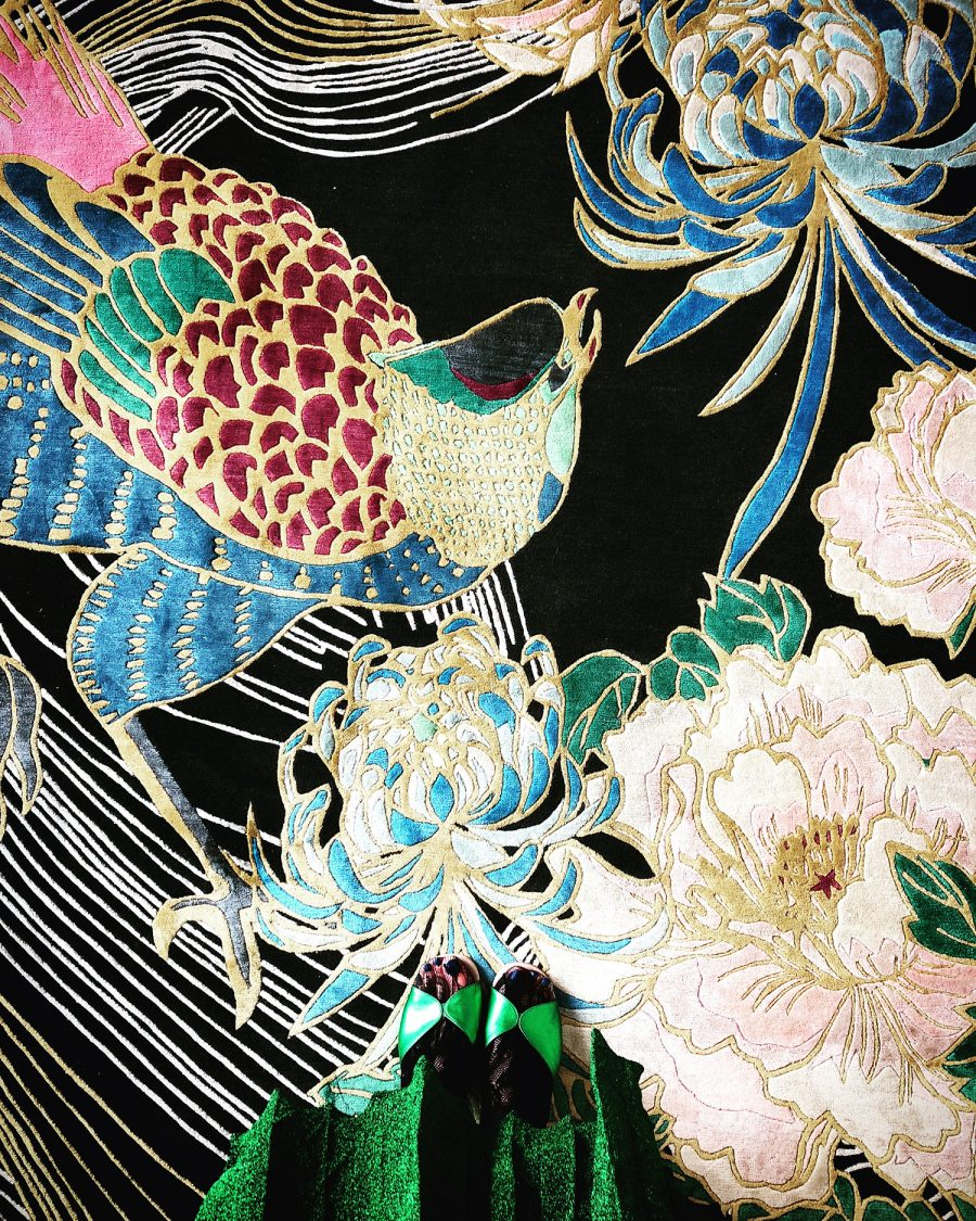 Wendy Morrison Design - Bespoke Rugs at ICFF 2018 - custom rugs - bespoke rugs - to the trade rugs - unique rug designs - phoenix art