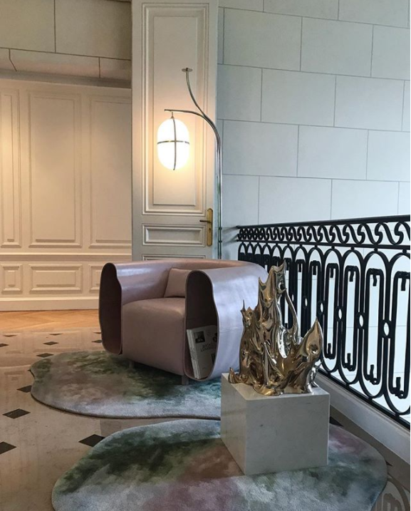 Mathieu Lehanneur at NOMAD Monaco 2018 - Design & Art Exhibition - Image via @mathieulehanneur - contemporary art - contemporary furniture designers - french designers - art shows - villa la vigie