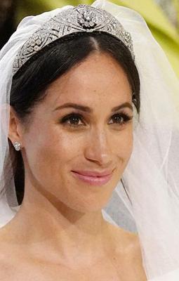 Royal Tiaras - Meghan Markle Tiara - Getty Images - royal jewelry - meghan markles wedding tiara - meghan markles wedding jewelry - royal wedding jewelry